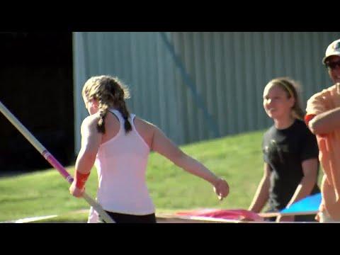 State AA track: Helena's Kamden Hilborn adds pole vault title to impressive senior year