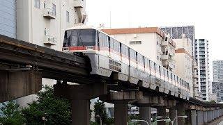 2019/06/14 【初期塗装】 東京モノレール 1000形 1085F 大井競馬場前駅 | Tokyo Monorail: 1000 Series 1085F at Oi Keibajo-mae