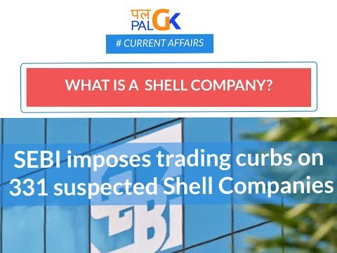 What are Shell Companies? Explained #SEBI's Crackdown  #Current Affairs
