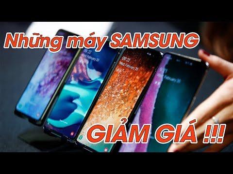 Những Máy Samsung Nào Ngon đang được Giảm Giá?