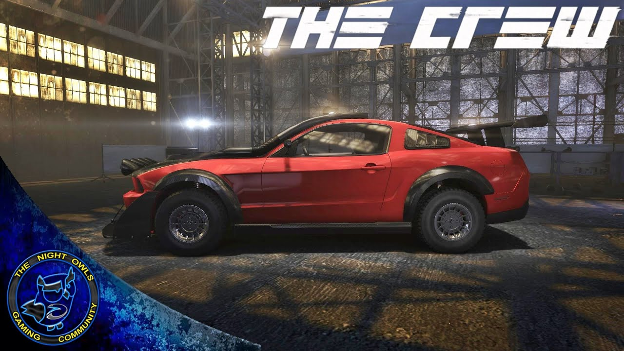 The Crew PC Lets Customize The 2011 Ford Mustang GT