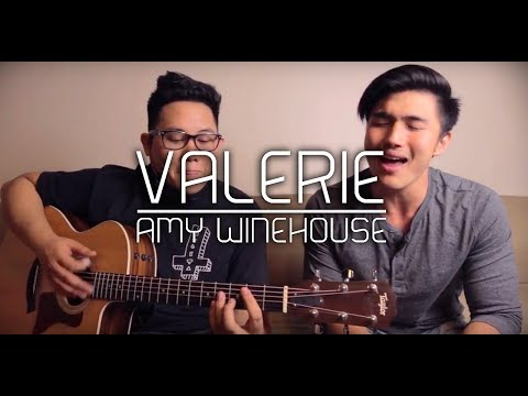 Amy Winehouse - Valerie (Acoustic Cover) ft. Daryl Garcia