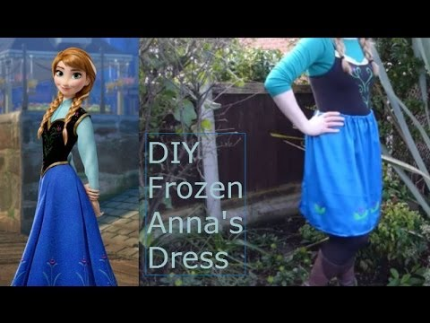 u0027Frozenu0027 Anna Easy (No Sew) DIY Outfit & Frozenu0027 Anna: Easy (No Sew) DIY Outfit - YouTube