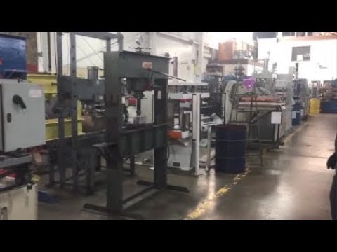 Used 75 Ton Dake Shop Press, #27183