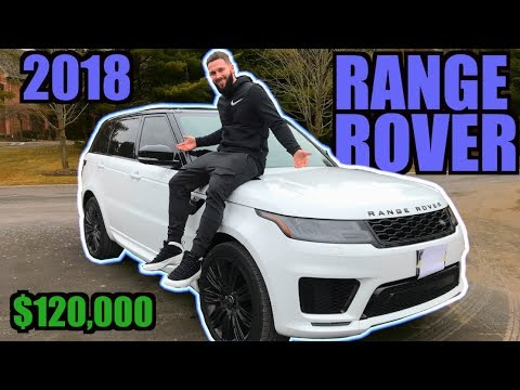 REVEALING MY NEW 2018 RANGE ROVER SPORT | V8 SUPERCHARGED DYNAMIC