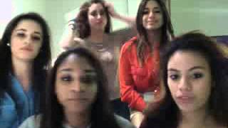 Fifth Harmony Twitcam #1 (February 13, 2013)