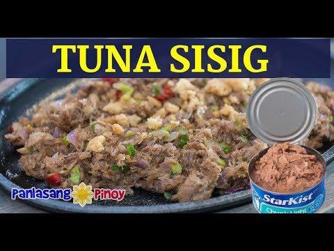 Tuna Sisig