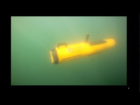 Mapping Underwater Explosive Remnants of War
