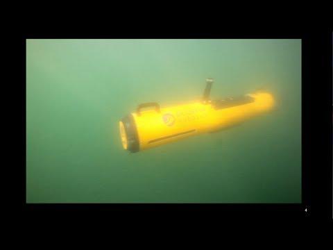 Mapping Underwater Explosive Remnants of War