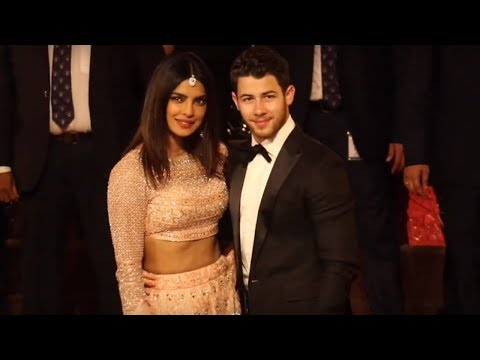 Priyanka Chopra With Nick Jonas At Isha Ambani & Anand Piramal Wedding