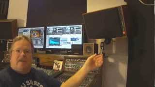 Auratone 5C mix cube studio monitors