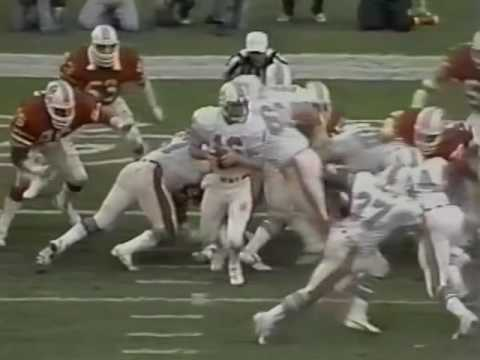 1982 Playoffs - Dolphins Over Patriots 28-13; Highlights With Radio Call