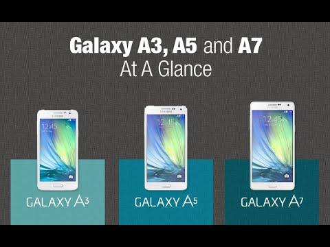 Samsung Galaxy A7 vs A5 vs A3 (2016): specs comparison
