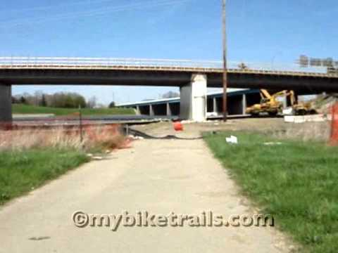 Great Miami River Trail - K Station North to Dayton, Ohio at 2x Speed