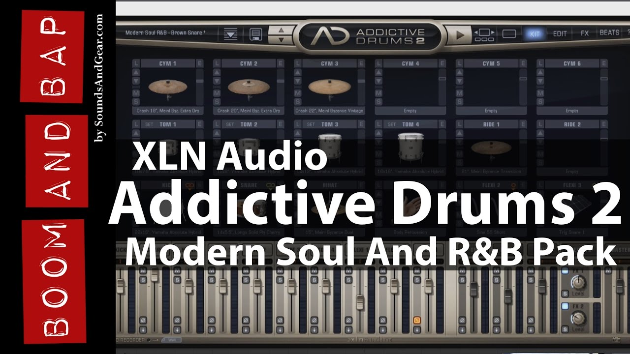 Boom and Bap: XLN Audio Addictive Drums 2 + Modern Soul And