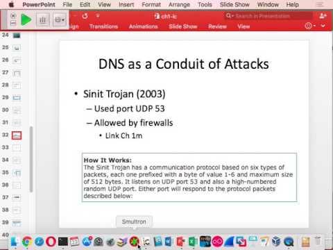 CNIT 40: DNS Security -- Sam Bowne