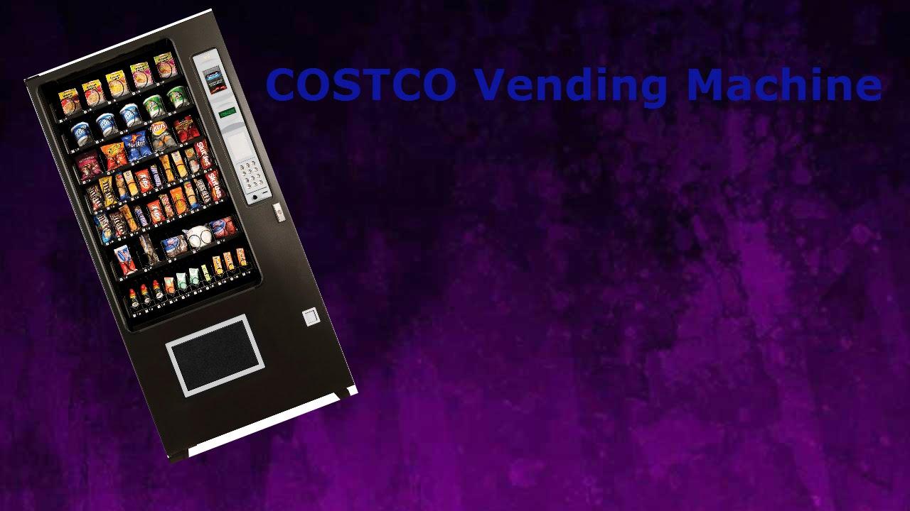 cool vending machine at