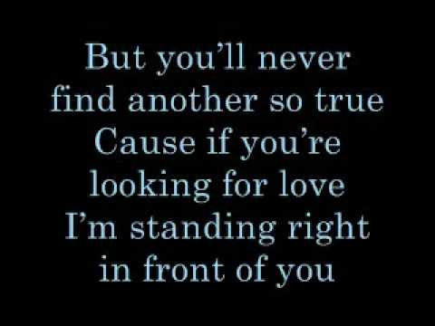 Keith Urban Standing Right In Front Of You Lyrics