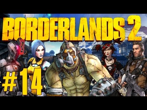 """Borderlands 2 - Part 14 - """"WILHELM"""" (and a Flying City)"""