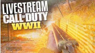 Call Of Duty World War 2 Live Stream  !!