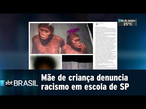 Mãe de criança de 12 anos denuncia racismo em escola no litoral de SP | SBT Brasil (24/08/18)