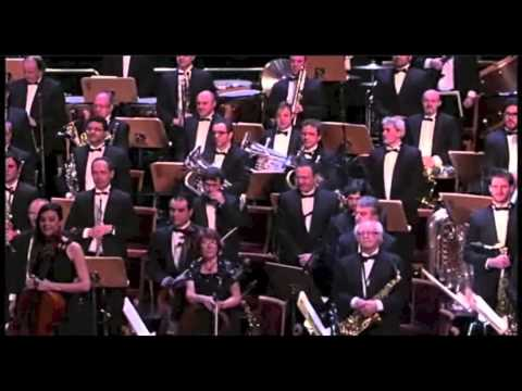 Concierto Reyes 2014 Teatro Real de Madrid. (Banda Sinfónica Municipal de Madrid-Paloma San Basilio)