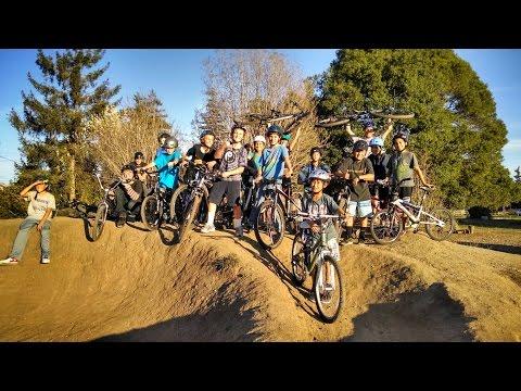 New Brighton Middle School Bike Club - Chanticleer Park pump track, Nov 6, 2014
