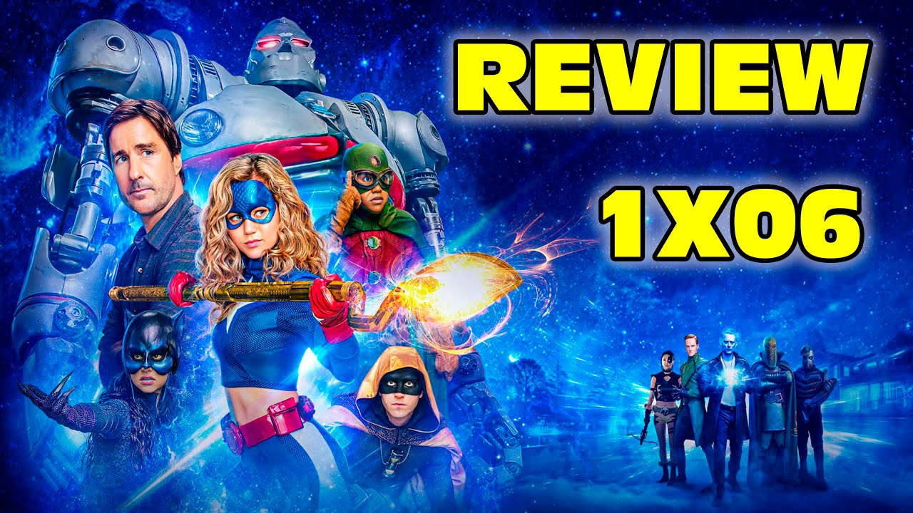 "Review-análisis del episodio 1x06 ""The Justice Society"" de #Stargirl"