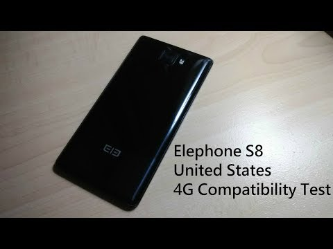 Elephone S8 United States 4G Compatibility Test