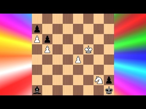The King Race   Cool Chess Puzzle #22 (Bondarenko and