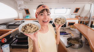 what-we-eat-when-there-s-no-fresh-food-sailing-tuamotus-cooking-at-sea