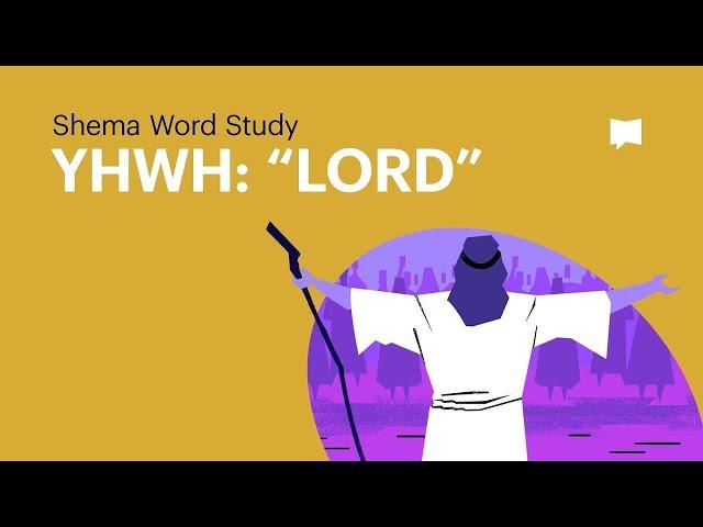 Word Study: YHWH -
