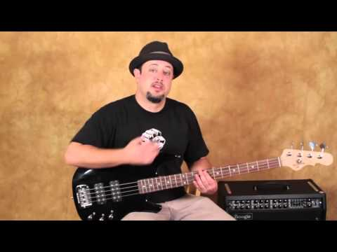 Easy Bass Lesson - Led Zeppelin - Dazed And Confused Inspired