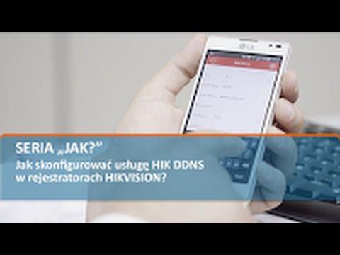 Jak Skonfigurować Usługę HIK DDNS  W Rejestratorach HIKVISION?