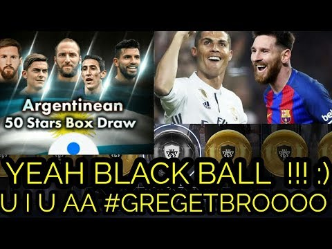 U I U AA BLACKBALL !! ARGENTINEAN 50 STARS BOX DRAW !! 100 % GREGET BLACKBALL!! :)