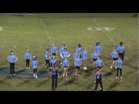 Northshore High Band Halftime  with Guest Dancers K thru 6 Slidell La 2012