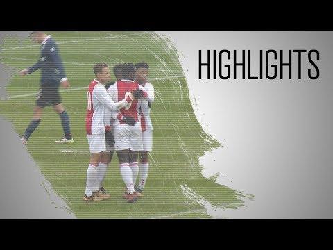 Highlights Ajax O17 - Sparta O17