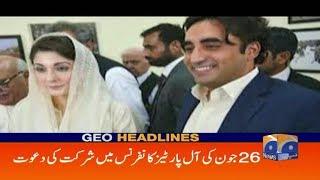 Geo Headlines - 10 AM - 24 June 2019