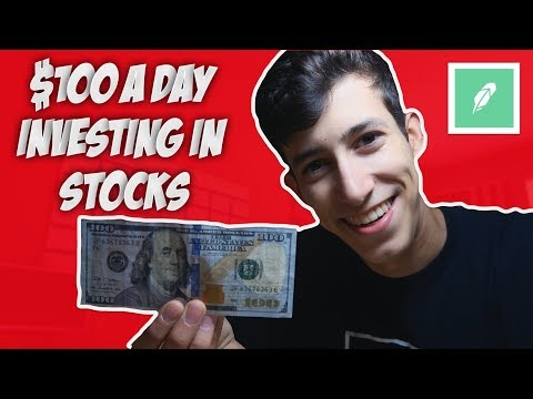 How To Make $100 Per Day Trading In The Stock Market!