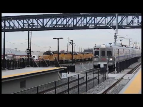 160423 Denver RTD Train to Plane Rapid Transit