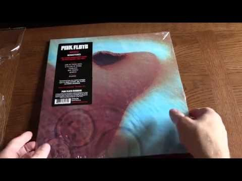 MEDDLE Unboxing PINK FLOYD  - Reissued & Remastered on 180g Vinyl for 2016