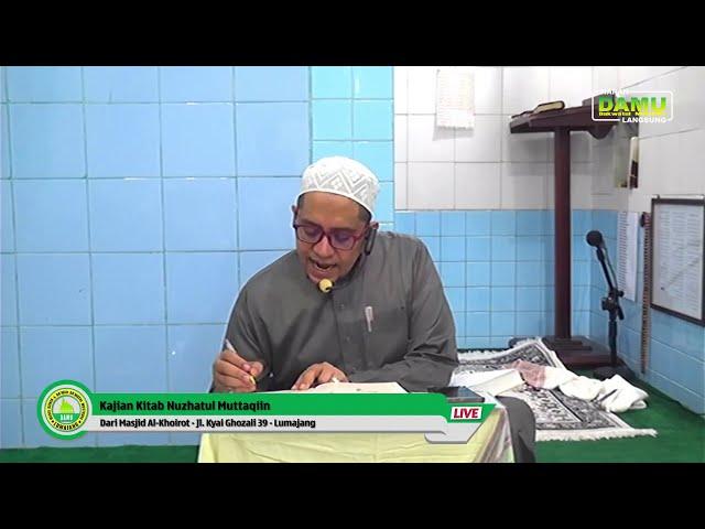 Kajian Kitab Nuzhatul Muttaqiin 2020-01-15