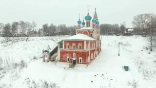 �������� ���� Воздушное путешествие по Тутаеву, Ярославская область ������