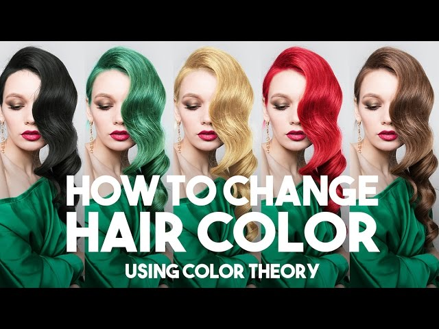 How to Change Hair Color in Photoshop Using Color Theory