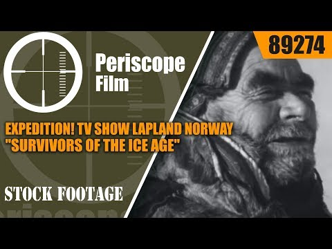 "EXPEDITION!  TV SHOW  LAPLAND NORWAY   ""SURVIVORS OF THE ICE AGE"" 89274"