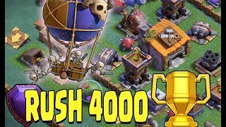🔴Rush 4000 Trophées MDO Clash of Clans