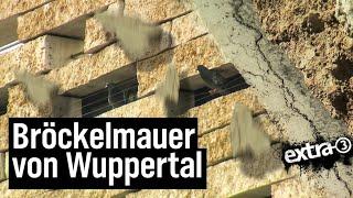 Realer Irrsinn: Die Klagemauer von Wuppertal