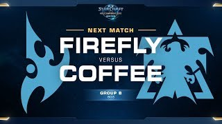 Firefly vs Coffee PvT - Ro16 Group B Elimination - WCS Winter Americas