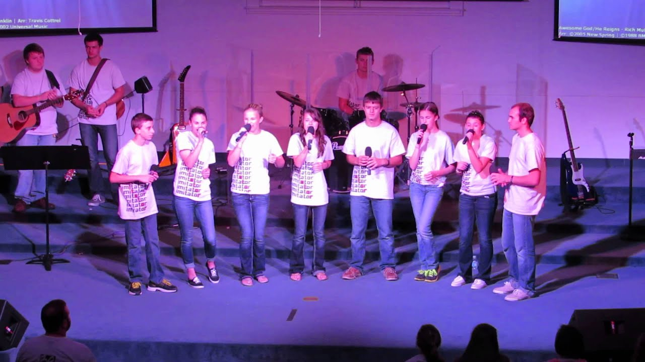 Hickory Hammock Baptist Church Youth Praise Team Singing
