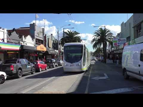 Melbourne Trams Route 96 Old Acland Street Terminus - Tram Spotting in Melbourne